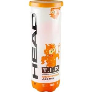 Мяч теннисный Head T.I.P Orange 578223/578123 (3 шт) отзывы покупателей специалистов владельцев  - купить со скидкой