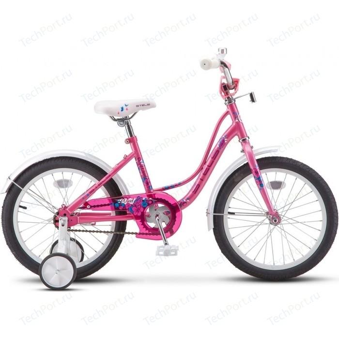 Двухколесный велосипед Stels Wind 18 Z020 розовый