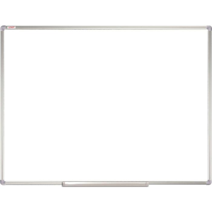 Доска магнитно-маркерная BRAUBERG Staff алюминиевая рамка, 235463 90x120