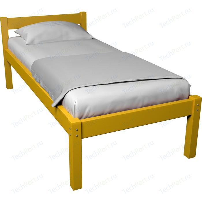 Кровать Anderson Герда желтая - 80x160