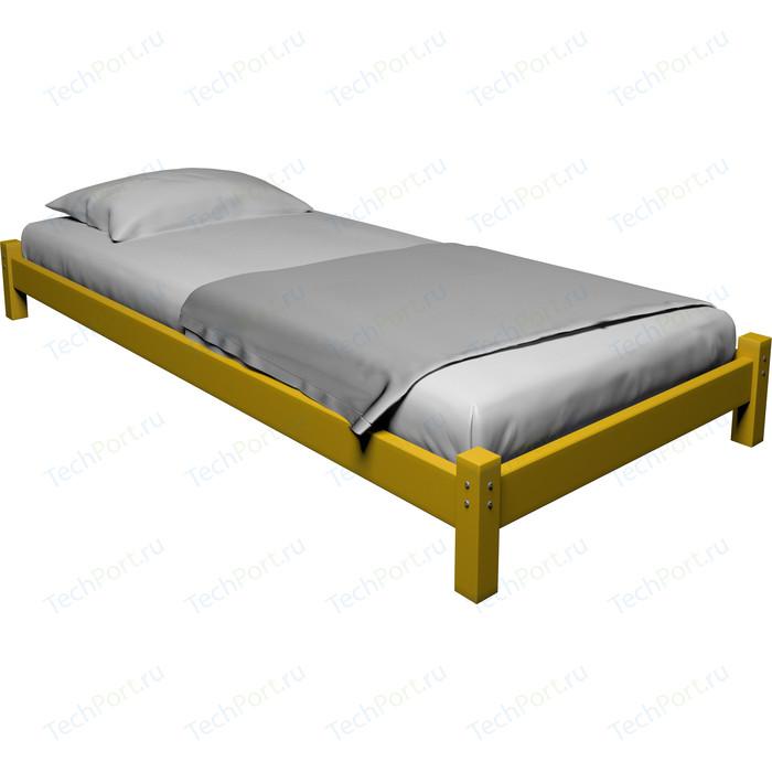 Кровать Anderson Ида желтая - 80x190