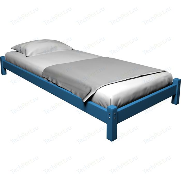 Кровать Anderson Ида голубая - 80x190