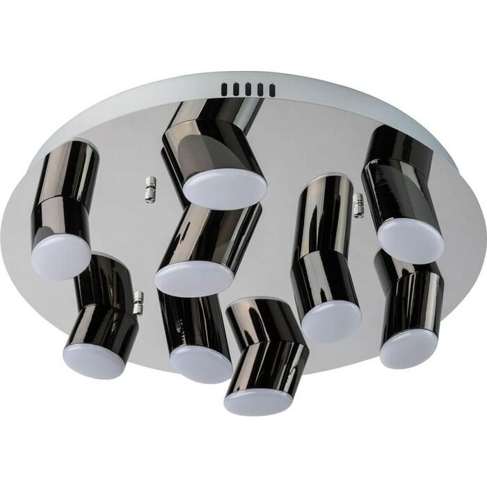 Потолочная светодиодная люстра DeMarkt 609013809 люстра потолочная demarkt фленсбург 609013809 180 0 2w led 220 v