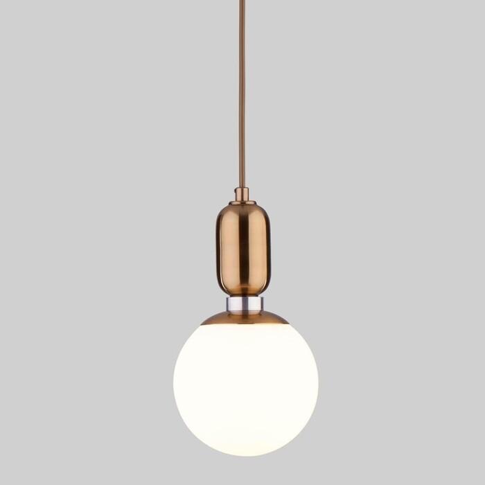 Подвесной светильник Eurosvet 50151/1 латунь
