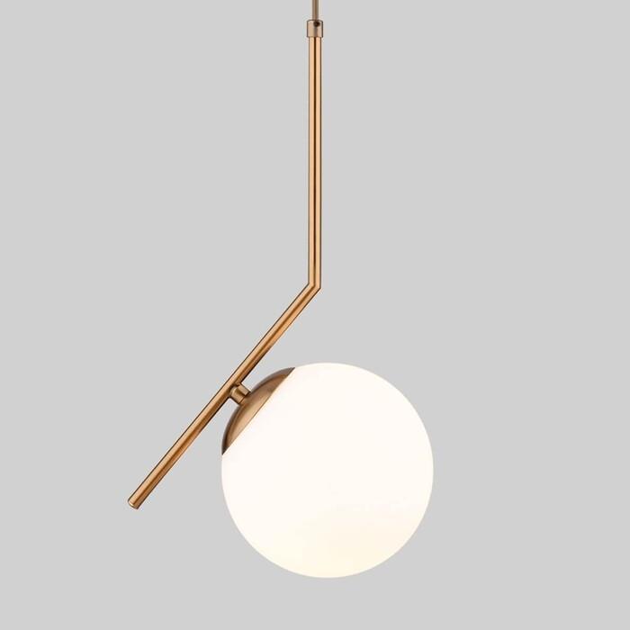 Подвесной светильник Eurosvet 50153/1 латунь
