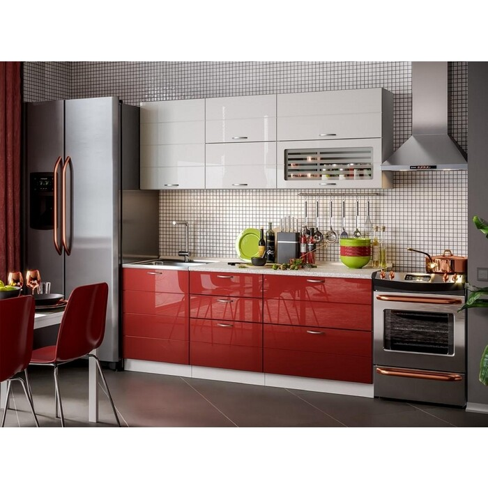 Кухня Стиль Виола Нео комплект Модерн 2,0 м (Тигра широкая)