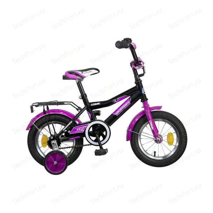 Велосипед 2-х колесный NOVATRACK 12 COSMIC черный 085367 123COSMIC.BK5