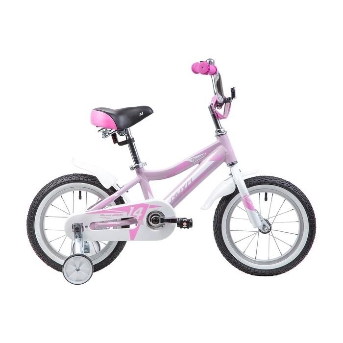 Велосипед 2-х колесный NOVATRACK 14 NOVARA алюм. розовый 145ANOVARA.PN9