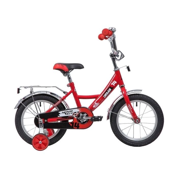 Двухколесный велосипед NOVATRACK 14 URBAN красный