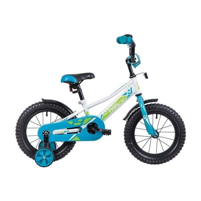 Фото - Велосипед 2-х колесный NOVATRACK 14 VALIANT белый 143VALIANT.WT9 велосипед 2 х колесный capella синий белый gl000432791