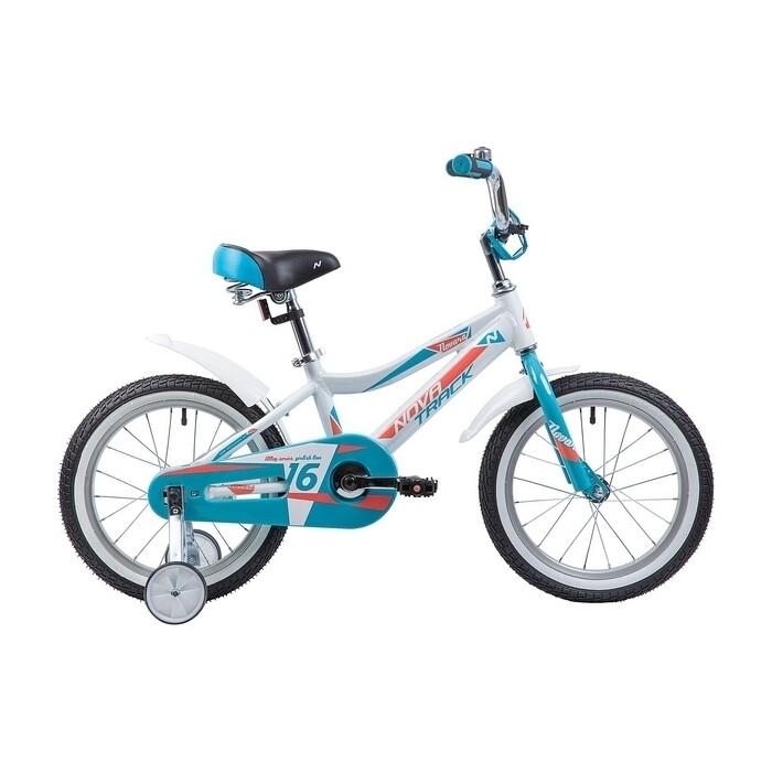 Фото - Велосипед 2-х колесный NOVATRACK 16 NOVARA алюм. белый 165ANOVARA.WT9 велосипед 2 х колесный capella синий белый gl000432791