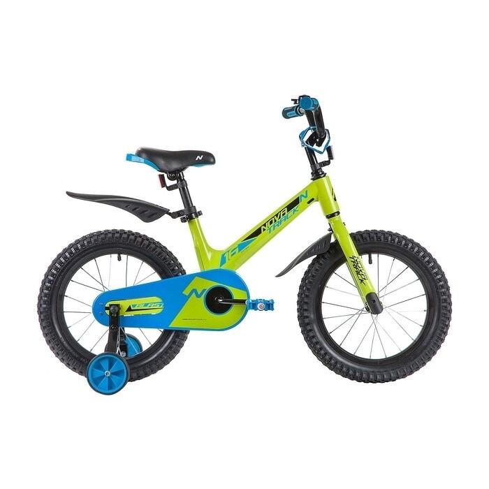 Двухколесный велосипед NOVATRACK 16 BLAST зеленый