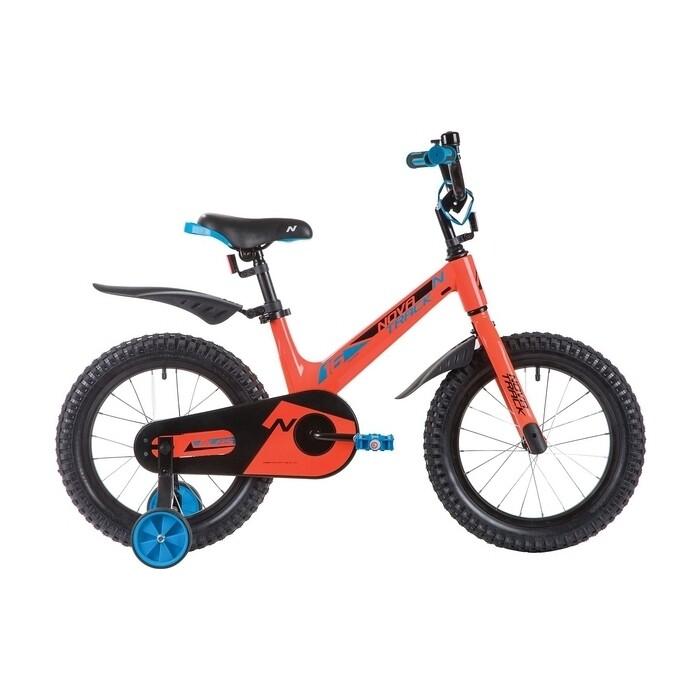 Двухколесный велосипед NOVATRACK 16 BLAST оранжевый