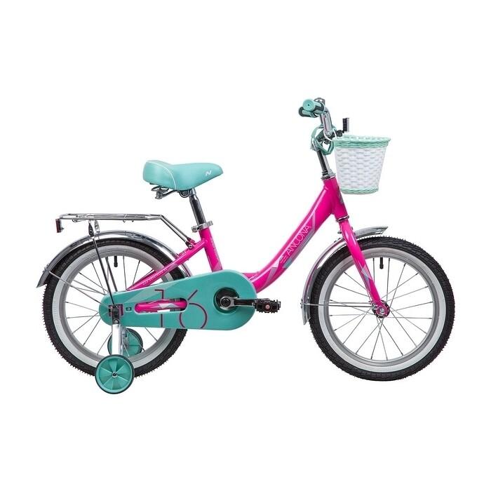 Велосипед 2-х колесный NOVATRACK 16 ANCONA розовый 167AANCONA.PN9