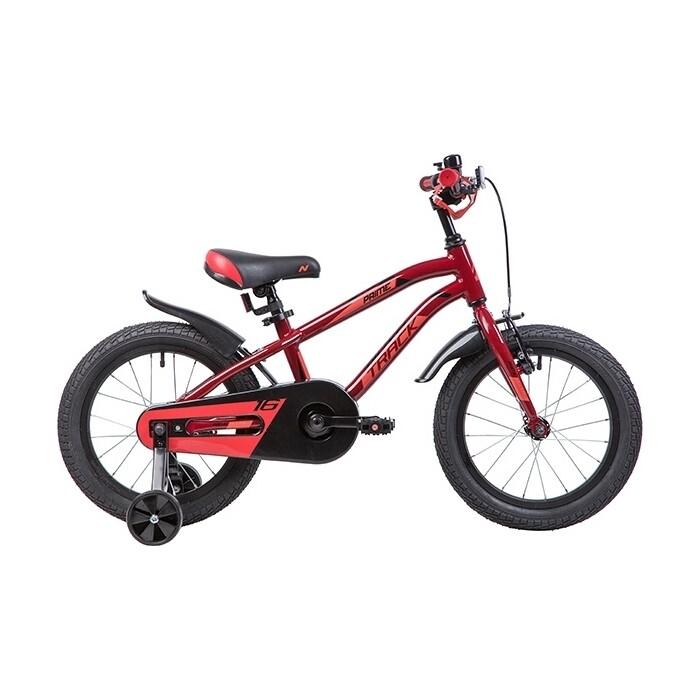 Двухколесный велосипед NOVATRACK 16 PRIME алюм. коричневый