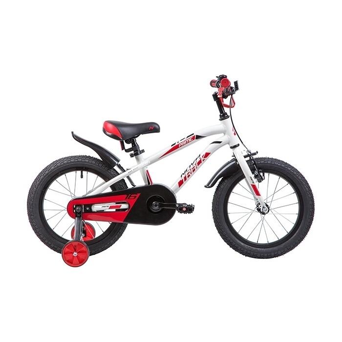 Велосипед 2-х колесный NOVATRACK 16 PRIME алюм. белый 167APRIME.WT9