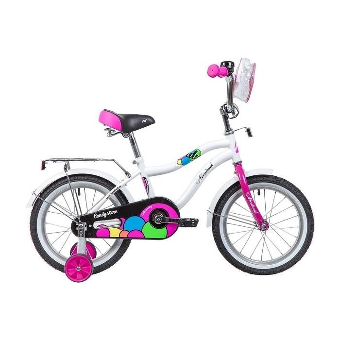 Велосипед 2-х колесный NOVATRACK 16 CANDY белый 165CANDY.WT9