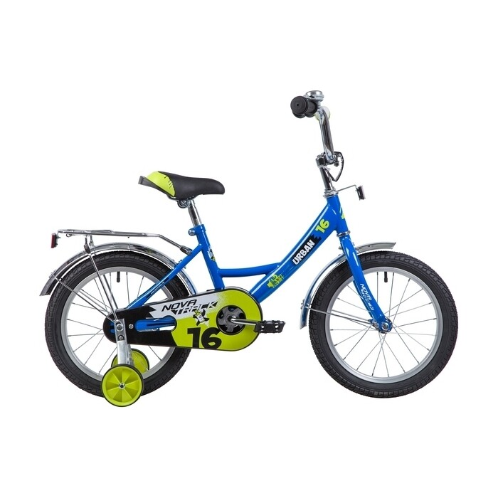 Велосипед 2-х колесный NOVATRACK 16 URBAN синий 163URBAN.BL9