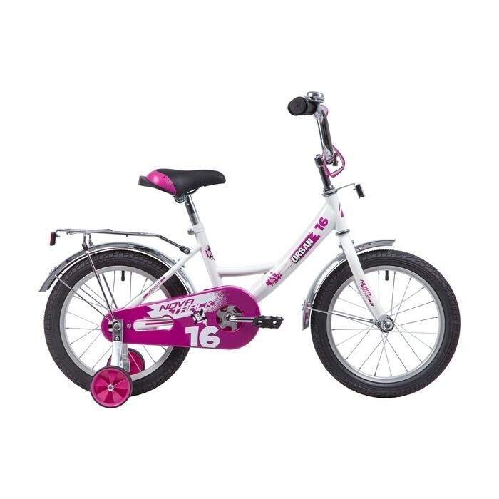Фото - Велосипед 2-х колесный NOVATRACK 16 URBAN белый 163URBAN.WT9 велосипед 2 х колесный capella синий белый gl000432791