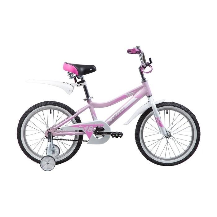 Велосипед 2-х колесный NOVATRACK 18 NOVARA алюм. розовый 185ANOVARA.PN9