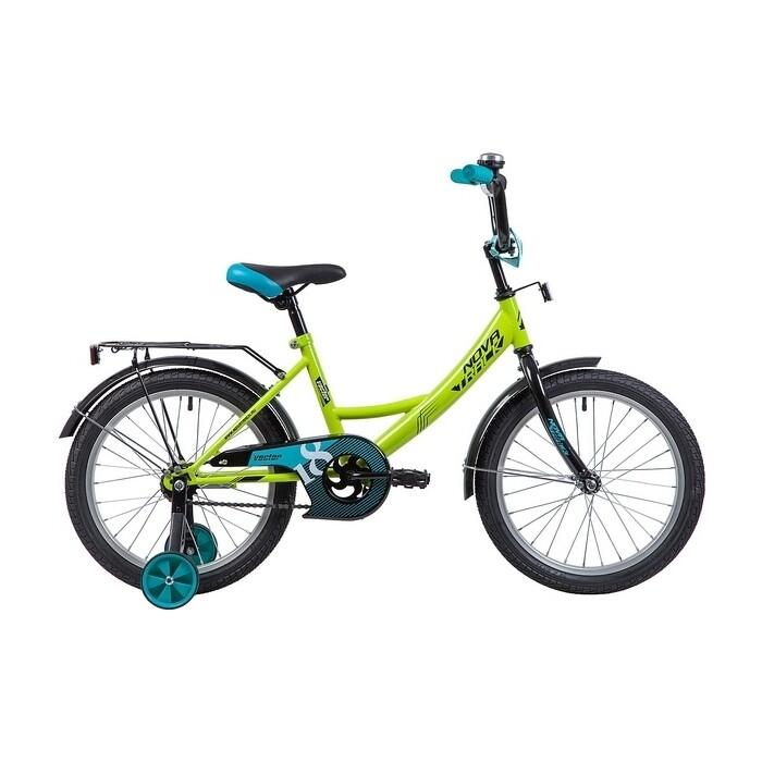 Велосипед 2-х колесный NOVATRACK 18 Vector салатовый 183VECTOR.GN9