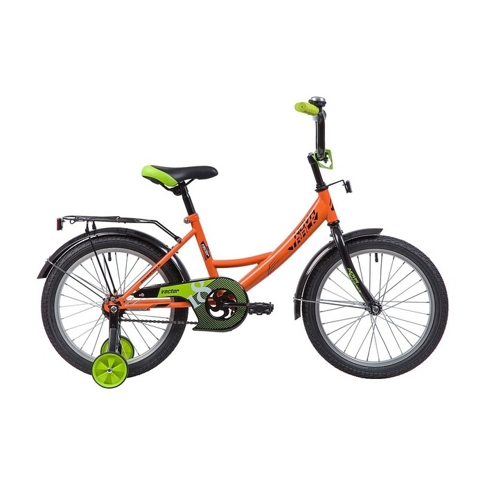 Велосипед 2-х колесный NOVATRACK 18 Vector оранжевый 183VECTOR.OR9