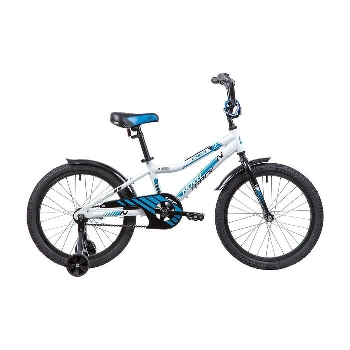 Фото - Велосипед 2-х колесный NOVATRACK 20 CRON белый 205ACRON.WT9 велосипед 2 х колесный capella синий белый gl000432791