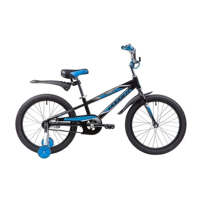 Двухколесный велосипед NOVATRACK 20 DODGER черный