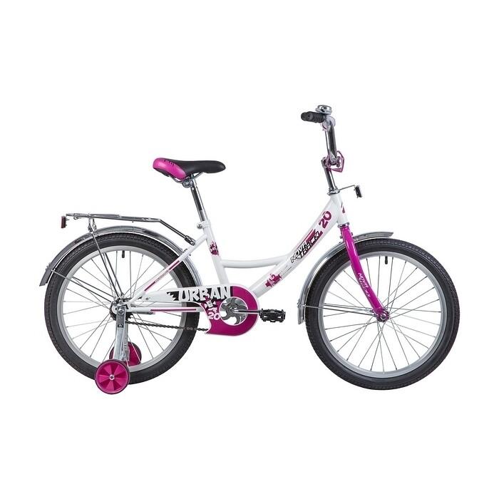 Фото - Велосипед 2-х колесный NOVATRACK 20 URBAN белый 203URBAN.WT9 велосипед 2 х колесный capella синий белый gl000432791
