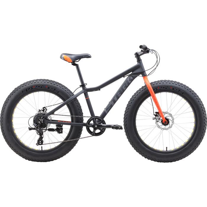 Велосипед Stark Rocket Fat 24.2 D серый/оранжевый цена 2017