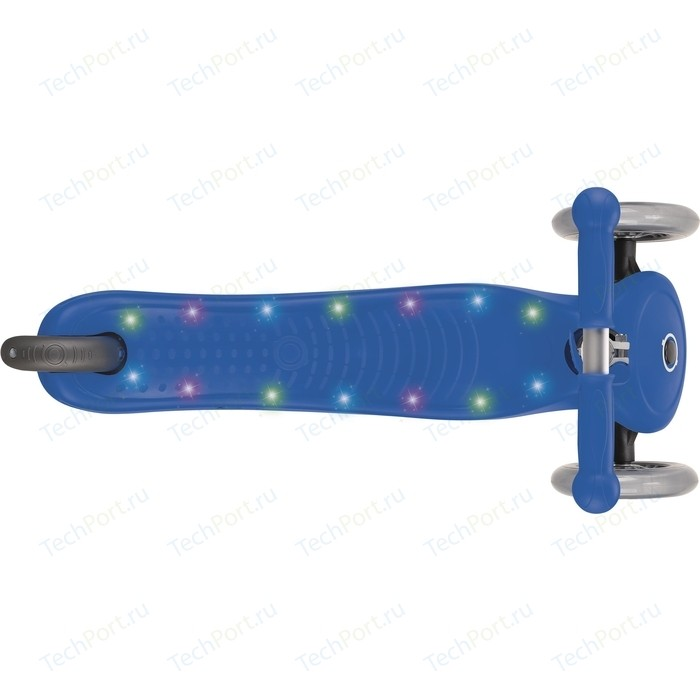 Самокат 3-х колесный Globber PRIMO STARLIGHT синий (во4710-1)