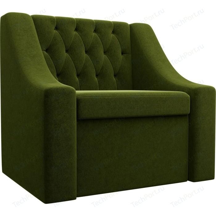 Кресло АртМебель Мерлин микровельвет зеленый