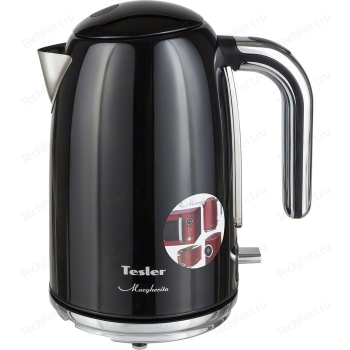 Фото - Чайник электрический Tesler KT-1755 BLACK чайник tesler kt 1755 red