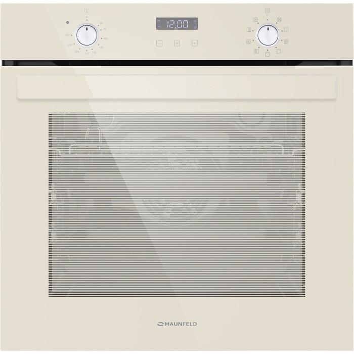 Электрический духовой шкаф MAUNFELD EOEM.769BG electric brass cabinet maunfeld eoem 769bg ivory