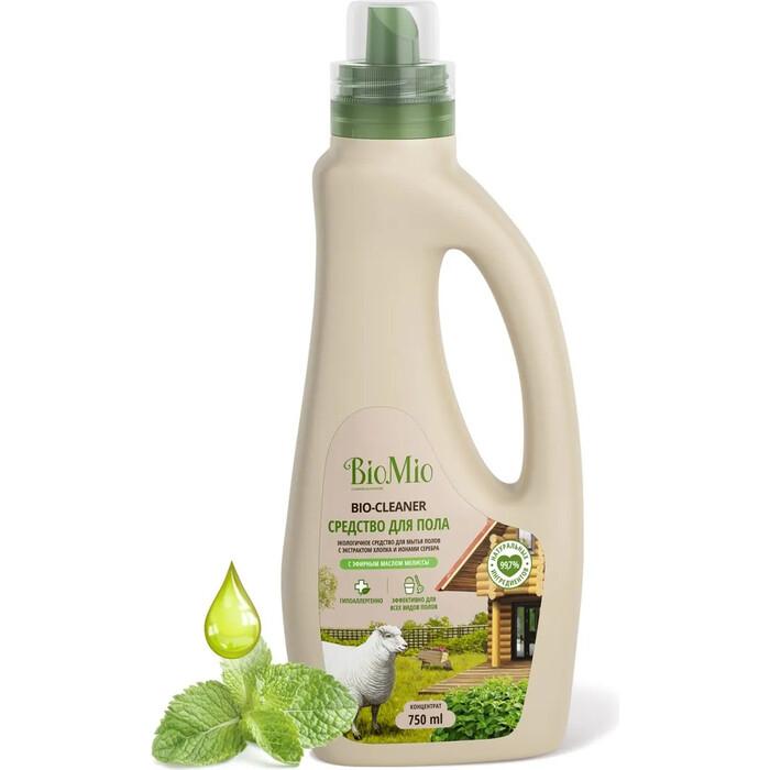 Средство для мытья пола BioMio Мелисса, экологичное 750 мл