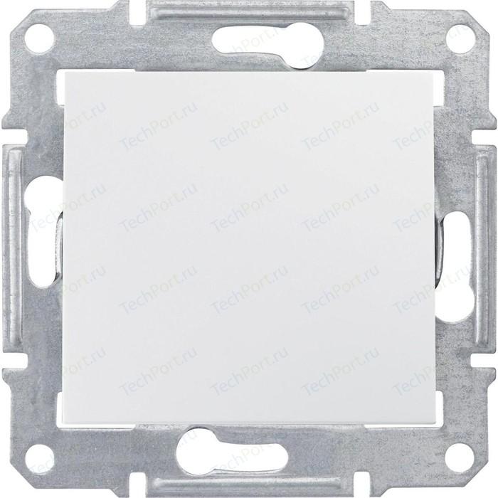 Переключатель одноклавишный Schneider Electric механизм СП Sedna перекрестн. белый SDN0500121 выключатель одноклавишный schneider electric механизм сп sedna 10а ip20 с син индик белый sdn1400121