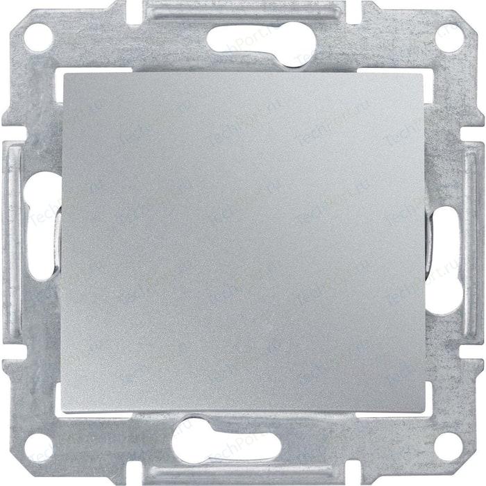Переключатель одноклавишный Schneider Electric механизм СП Sedna проходн. алюминий SDN0400160 выключатель одноклавишный schneider electric механизм сп sedna 10а ip20 с син индик белый sdn1400121