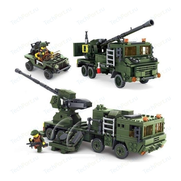 Конструктор KAZI Зенитные войска - 84039