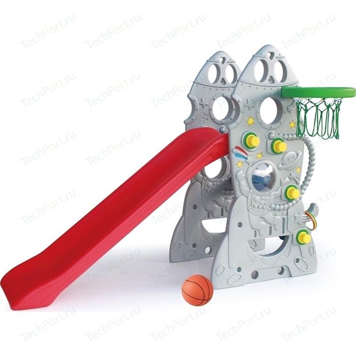 Горка Ching-Ching Ракета и баскетбольное кольцо SL-18