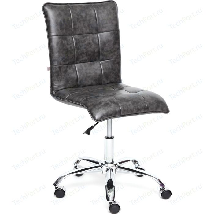Кресло TetChair ZERO кож/зам серый 2 TONE