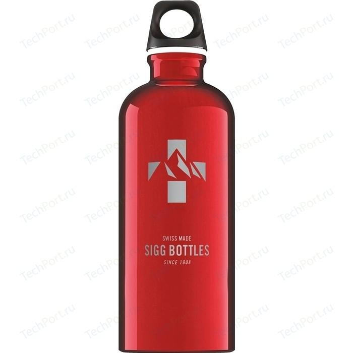 Фото - Бутылка для воды 0.6 л Sigg Mountain (8744.60) красная бутылка для воды sigg sigg leaf 1л