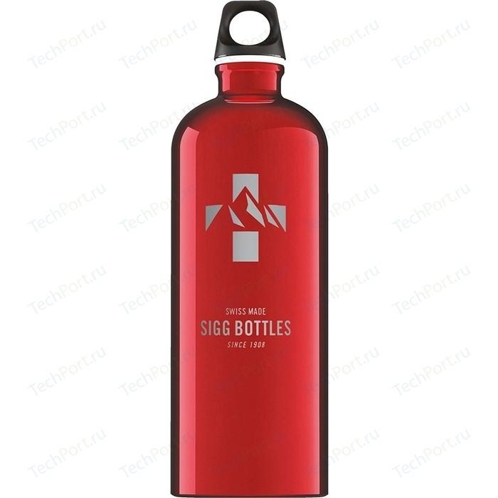 Бутылка для воды 1 л Sigg Mountain (8744.70) красная