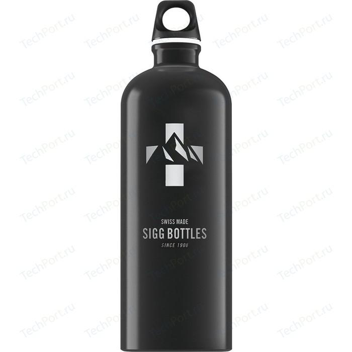 Фото - Бутылка для воды 1 л Sigg Mountain (8744.50) черная бутылка для воды sigg sigg leaf 1л