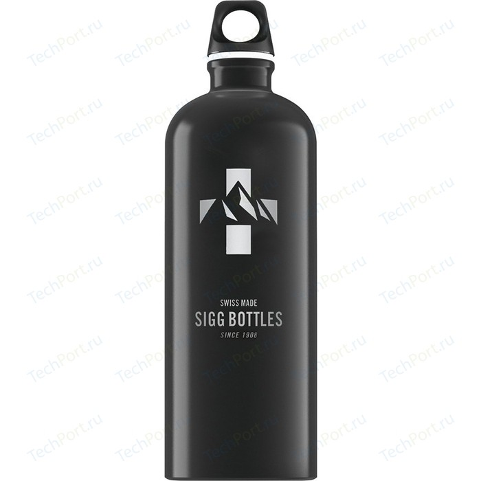 Бутылка для воды 1 л Sigg Mountain (8744.50) черная