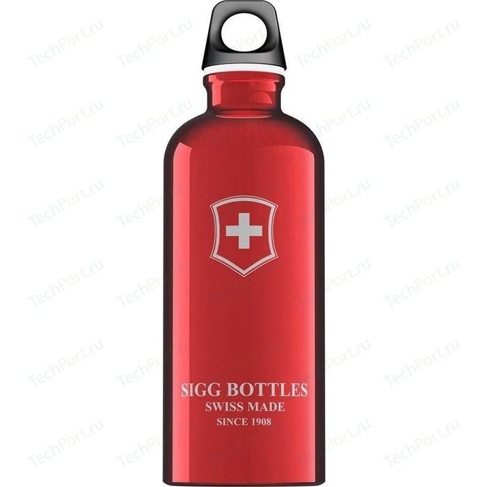 Фото - Бутылка для воды 0.6 л Sigg (8319.20-V) красная бутылка для воды sigg sigg leaf 1л