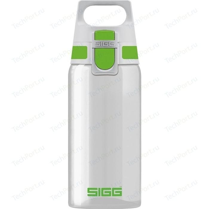 Бутылка для воды 0.5 л Sigg Total Clear One (8692.80) бело-зеленая