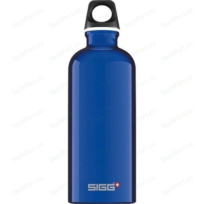 Фото - Бутылка для воды 0.6 л Sigg Traveller (7523.30) голубая бутылка для воды sigg sigg leaf 1л