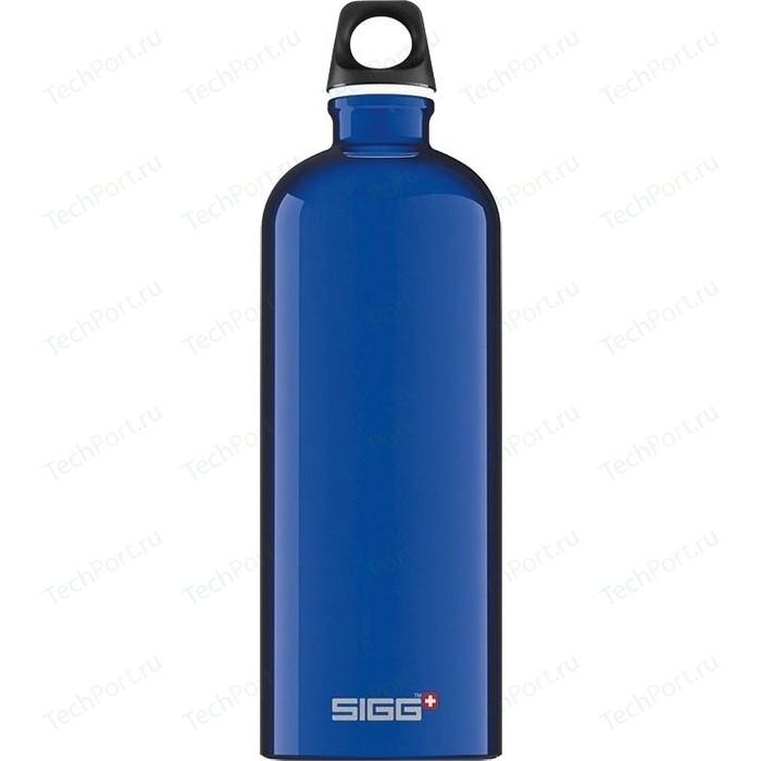 Фото - Бутылка для воды 1 л Sigg Traveller (7533.30) голубая бутылка для воды sigg sigg leaf 1л