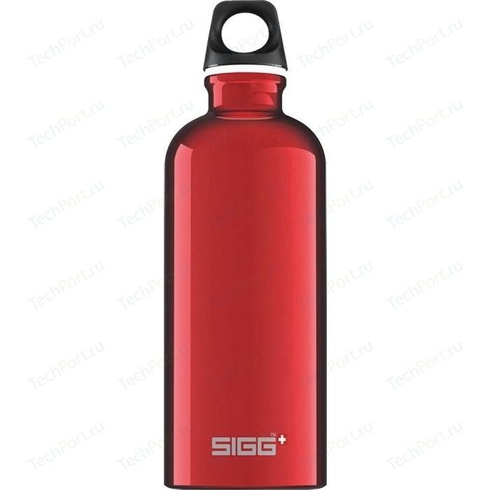 Фото - Бутылка для воды 0.6 л Sigg Traveller (8326.30) красная бутылка для воды sigg sigg leaf 1л