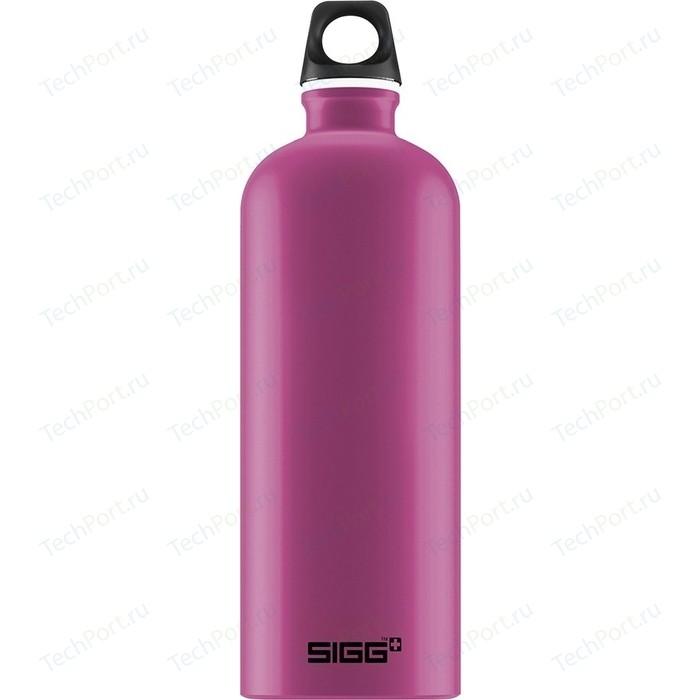Фото - Бутылка для воды 1 л Sigg Traveller (8635.40) розовая бутылка для воды sigg sigg leaf 1л